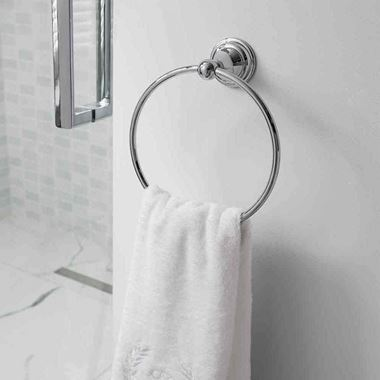 Crosswater Belgravia Towel Ring