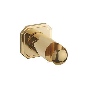Crosswater Belgravia Wall Outlet - Unlacquered Brass