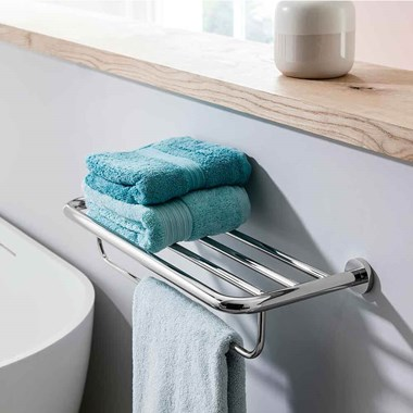 Crosswater Central 580mm 2 Tier Towel Rail