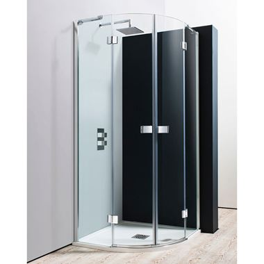 Crosswater Design Double Door Hinged Quadrant Shower Enclosure