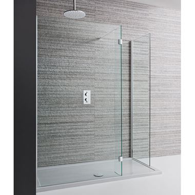 Crosswater Design Walk In Shower Enclosure & Shower Tray