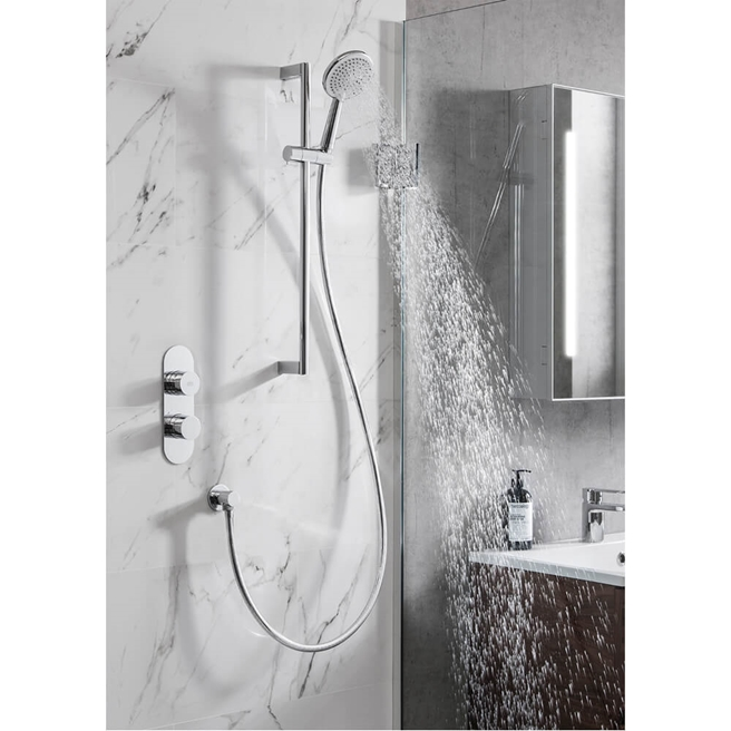 Crosswater Dial Central 1 Outlet Shower Kit