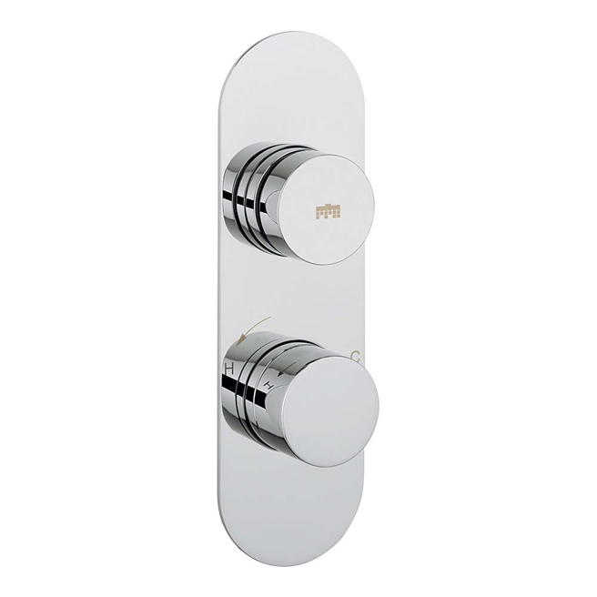 Crosswater Dial Central Concealed Thermostatic 1 Outlet Shower Valve