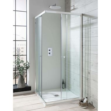 Crosswater Edge Corner Entry Shower Enclosure