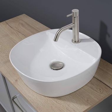 Crosswater Fontana Countertop Basin - 400mm