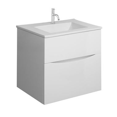 Crosswater Glide II 50 Wall Hung Vanity Unit with Basin