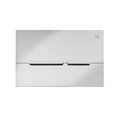 Crosswater Glide Flush Plate - Chrome