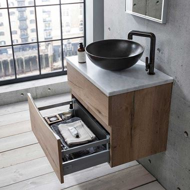 Crosswater Glide II 70 Wall Mounted Unit & Marble Worktop