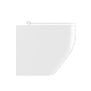 Crosswater Infinity Back to Wall Rimless Toilet & Soft Close Seat - 520mm Projection