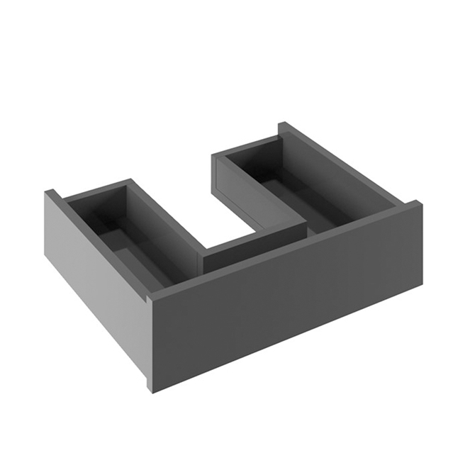 Crosswater Infinity Internal Drawer - Black