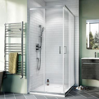 Crosswater Kai 6mm Corner Entry Shower Enclosure