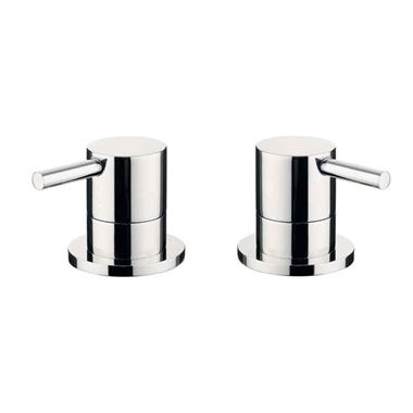 Crosswater Kai Lever Panel Valves (Pair)