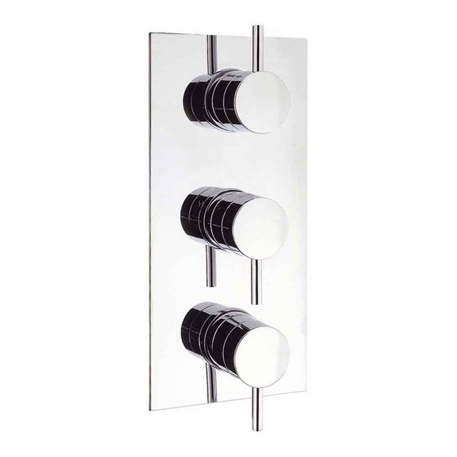 Crosswater Kai Lever Concealed Thermostatic Shower Valve 3 Control