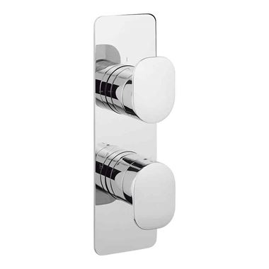 Crosswater KH Zero 2 Concealed Thermostatic Shower Valve with 3 Way Diverter