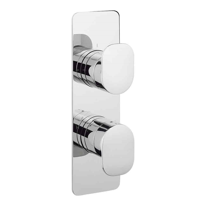 Crosswater KH Zero 2 Concealed Thermostatic Shower Valve with 2 Way Diverter