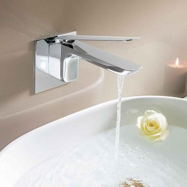 Crosswater KH Zero 2 Wall Mounted Basin Mixer Tap