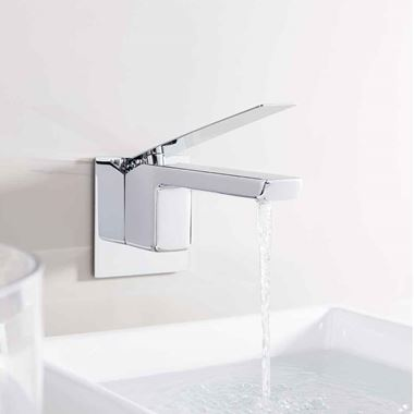 Crosswater KH Zero 3 Wall Mounted Basin Mixer Tap