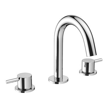 Crosswater MPRO 3 Hole Basin Mixer Tap