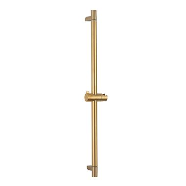 Crosswater MPRO 700mm Sliding Shower Rail - Brushed Brass