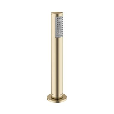 Crosswater MPRO Follow Me Round Shower Handset and Hose - Brushed Brass