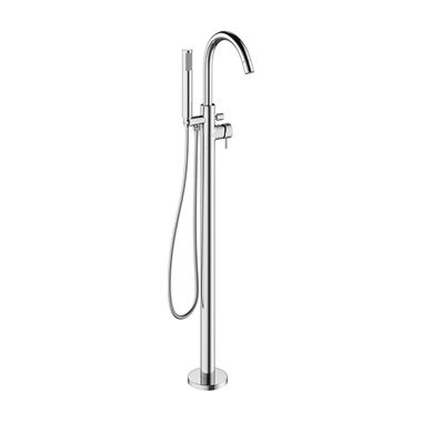Crosswater MPRO Floorstanding Bath and Shower Mixer Tap - Chrome