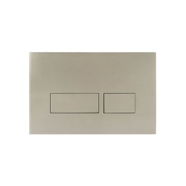 Crosswater MPRO Decorative Flush Plate - Brushed Stainless Steel Finish