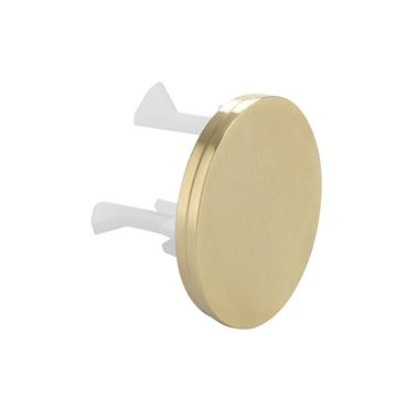 Crosswater MPRO Overflow Cover - Brushed Brass