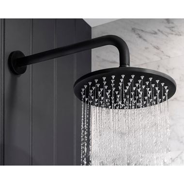 Crosswater MPRO 200mm Shower Head - Matt Black