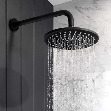 Crosswater MPRO Shower Head - 200mm or 300mm - Matt Black