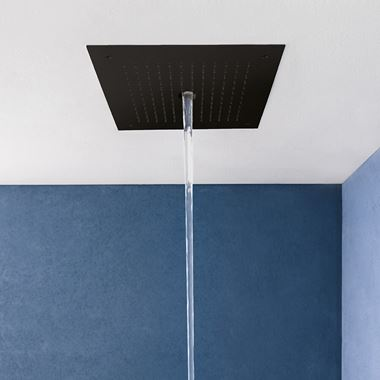 Crosswater MPRO Stream Shower Head - Matt Black