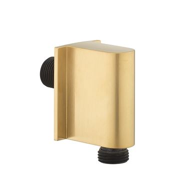 Crosswater MPRO Wall Outlet - Brushed Brass