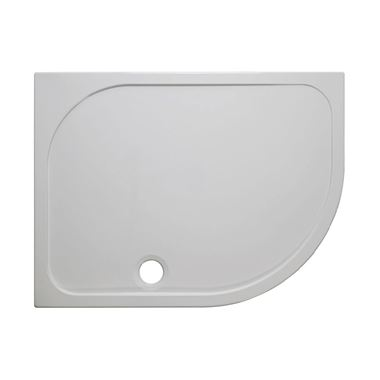 Crosswater 45mm Offset Quadrant Stone Resin Shower Tray