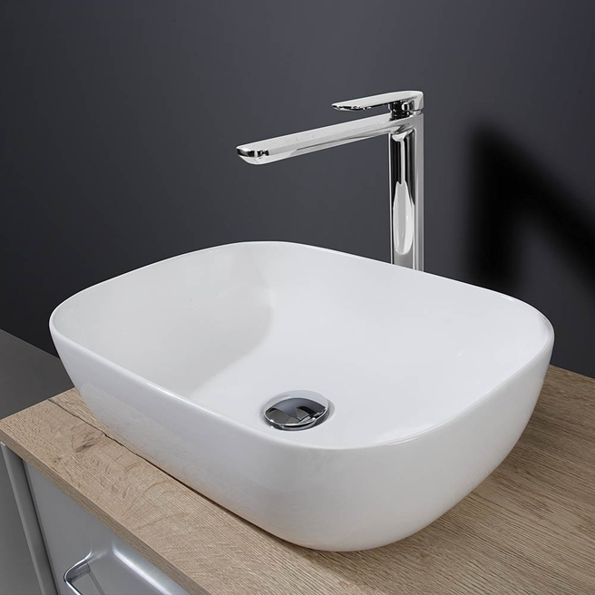 Crosswater Real Countertop Basin - 490mm