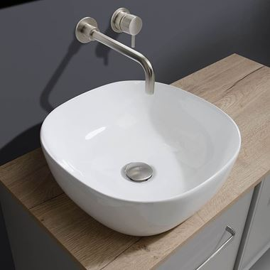 Crosswater Real Square Countertop Basin - 410mm