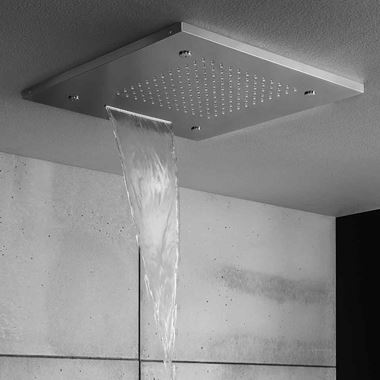 Crosswater Recessed 500mm Multifunction Shower Head