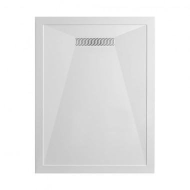 Crosswater 25mm Rectangular Stone Resin Shower Tray & Linear Waste - 900 x 1400mm
