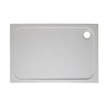 Crosswater 45mm Rectangular Stone Resin Shower Tray