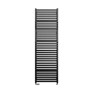 Crosswater Seattle Metallic Black Matte Heated Towel Rail - 1635 x 500mm