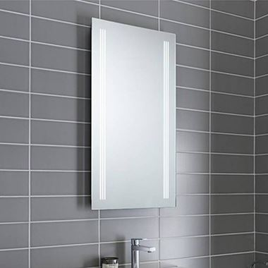 Crosswater Solo LED Illuminated Back Lit Mirror - 425 x 800mm