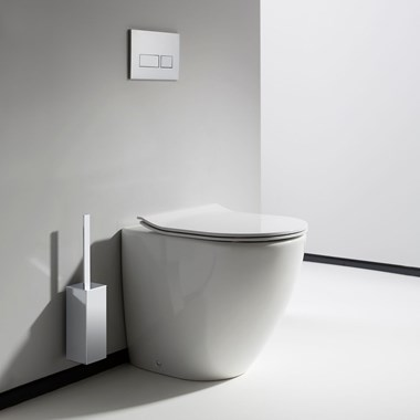Crosswater Svelte Back to Wall Toilet & Soft Close Seat - 520mm Projection