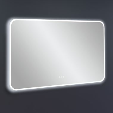 Crosswater Svelte Illuminated Mirror with Demister & Colour Change LED's - 1200 x 700mm