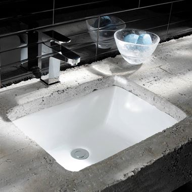 Crosswater Torino Small Undermount Ceramic Basin