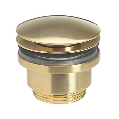 Crosswater Union Universal Basin Click Waste - Brushed Brass