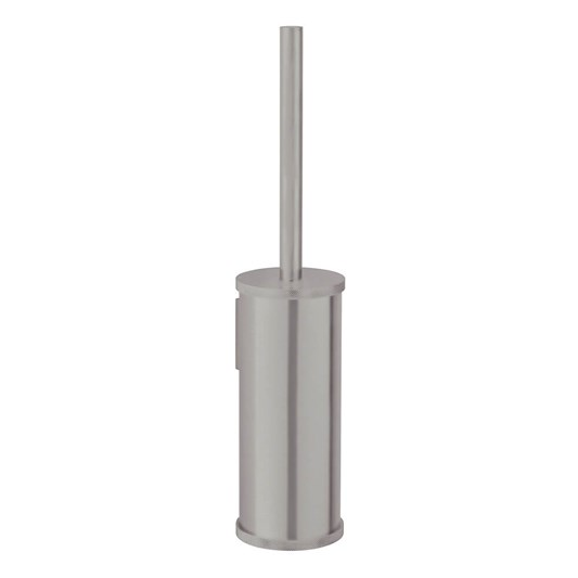 Crosswater Union Wall Mounted Toilet Brush & Holder - Brushed Nickel