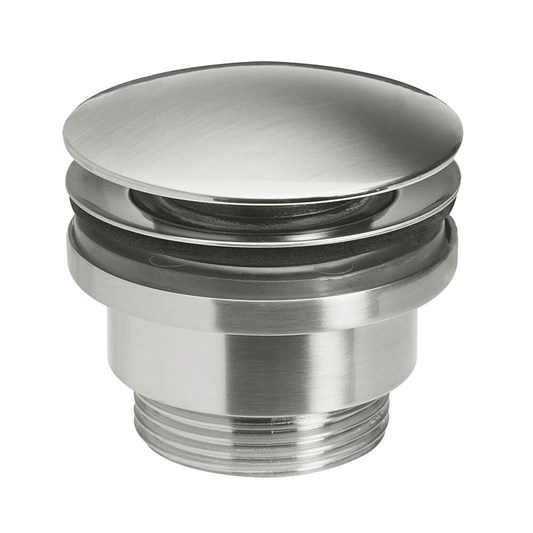 Crosswater Union Universal Basin Click Waste - Brushed Nickel