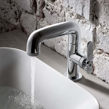 Crosswater Union WRAS Approved Mono Basin Mixer Tap - Chrome