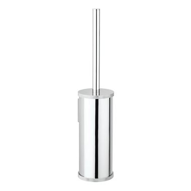 Crosswater Union Wall Mounted Toilet Brush & Holder - Chrome