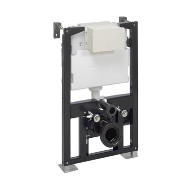Crosswater Wall Hung 820mm Height Support Frame with Dual Flush Cistern