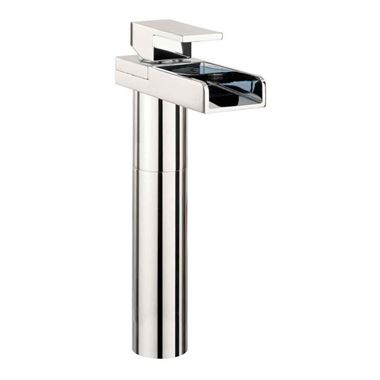 Crosswater Water Square Tall Waterfall Basin Mixer Tap
