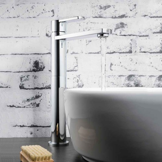 Crosswater Wisp Tall Basin Mixer Tap